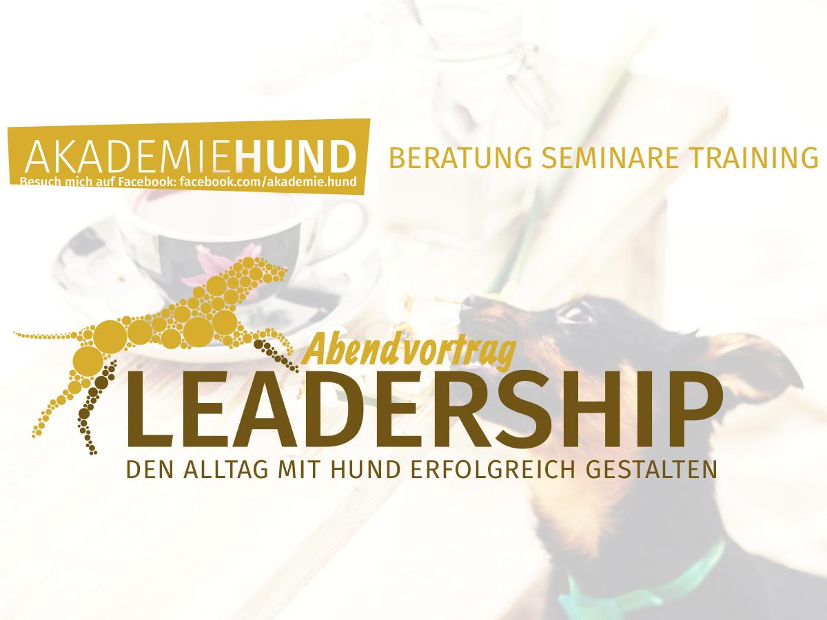 Seminar von Hundeschule Akademie Hund: Leadership - den Alltag mit Hund erfolgreich gestalten