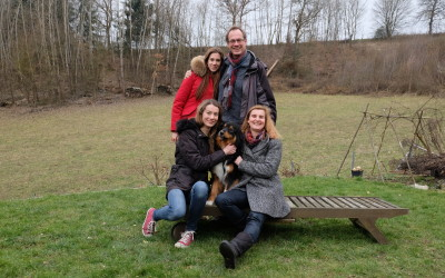 Team des Monats – Familie Hieber mit Samson