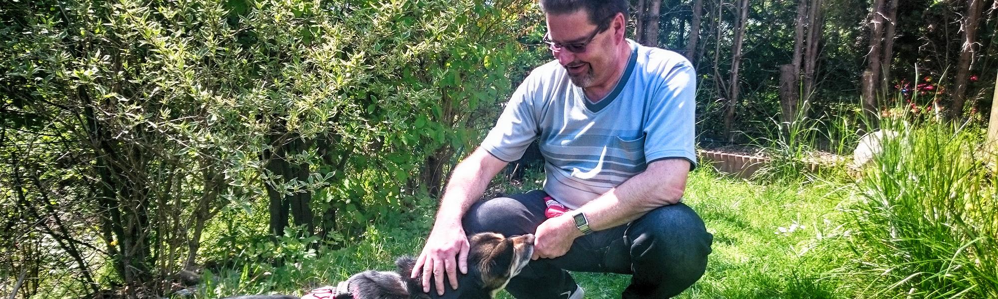 Akademie Hund Team des Monats: Andreas mit Hündin Cindy
