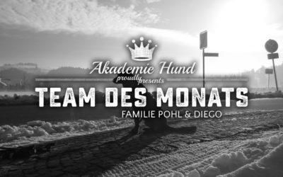 Team des Monats: Christina, Jens und Diego