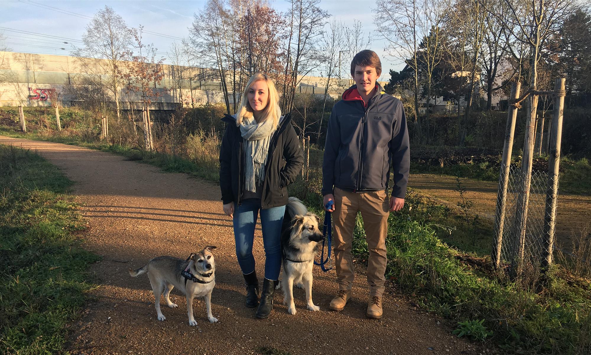 Unser Team des Monats November - Smokey, Kheila, Anni und Jonas
