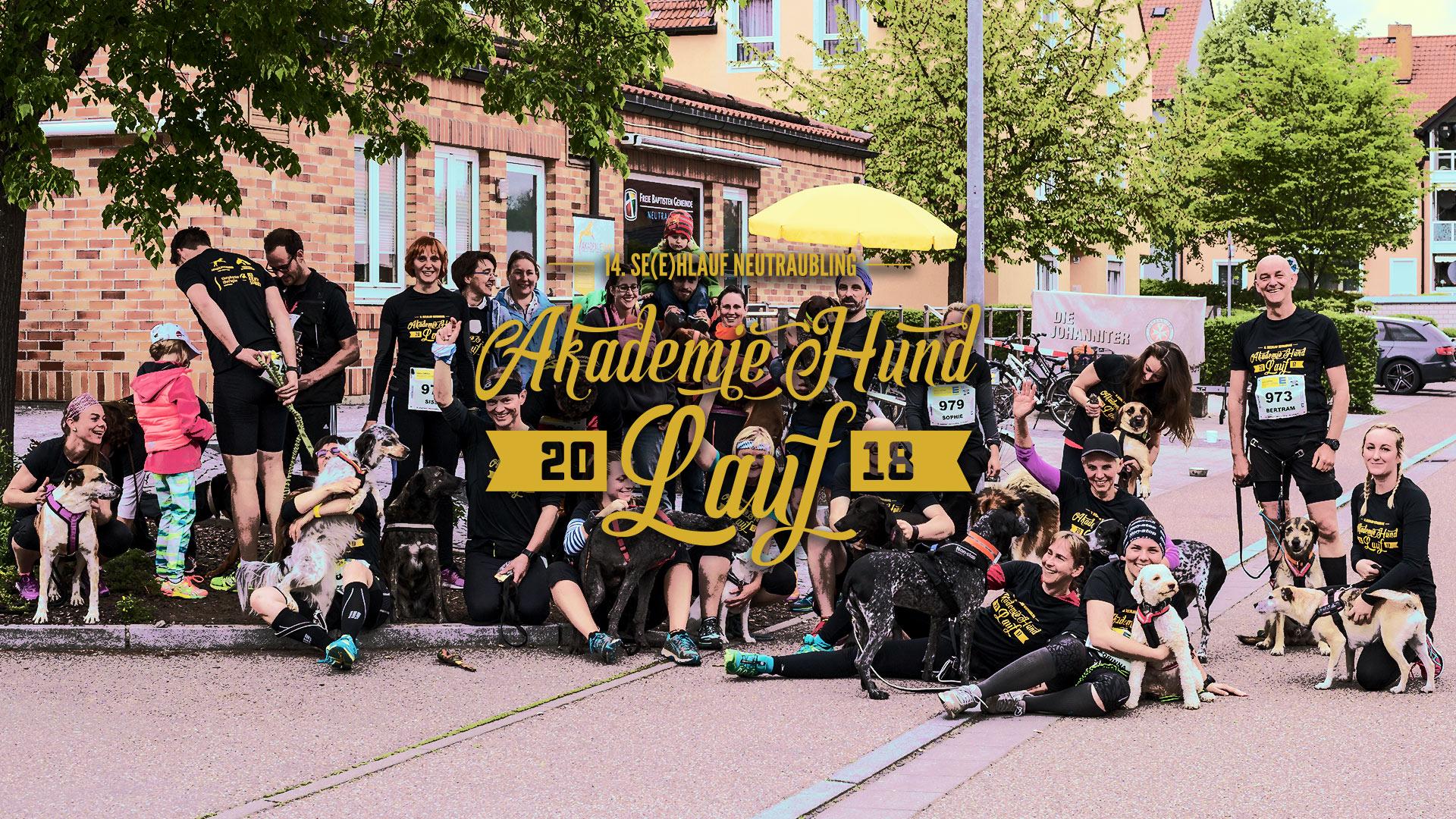Akademie Hund Lauf, 14. Se(e)hlauf Neutraubling 2018, Anmeldung