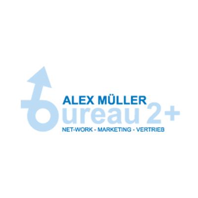 Bureau 2+ Alex Müller, Logo