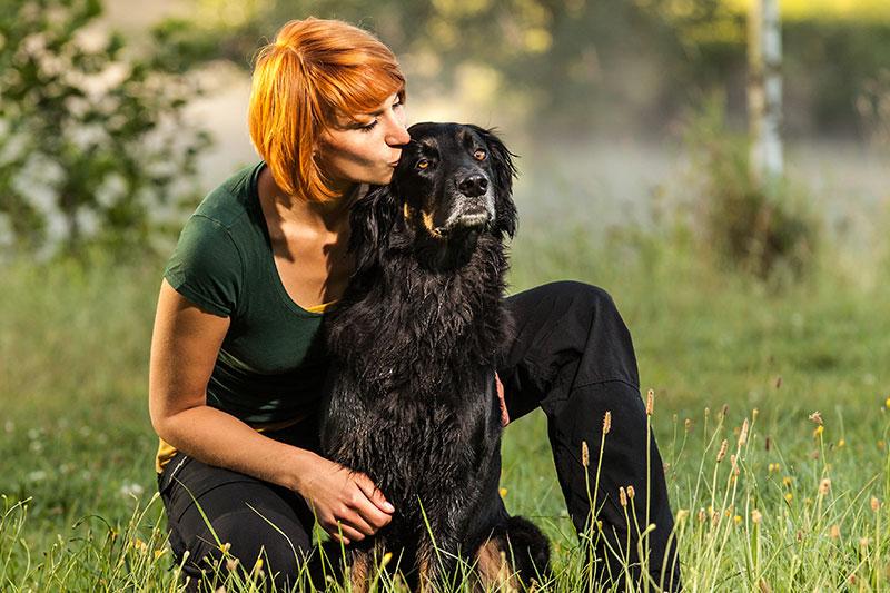 Hundetrainerin Sissy Leonie Kreid, Akademie Hund mit Hovawart Emma