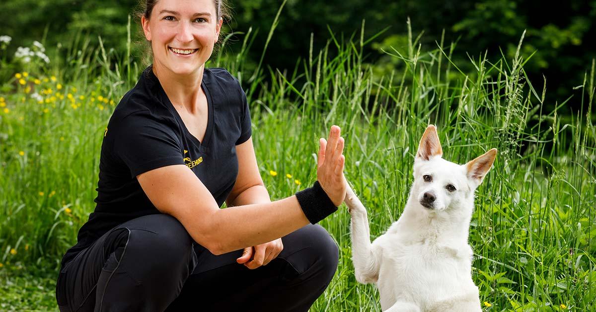 Kim Landfried, Akademie Hund mit Peanut