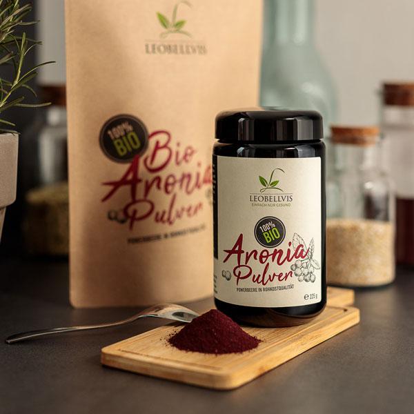 Bio Aronia Pulver online kaufen - Leobellvis.com