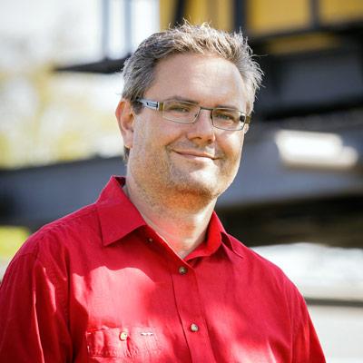 Martin Ostermaier, Heilpraktiker und Gründer von Leobellvis